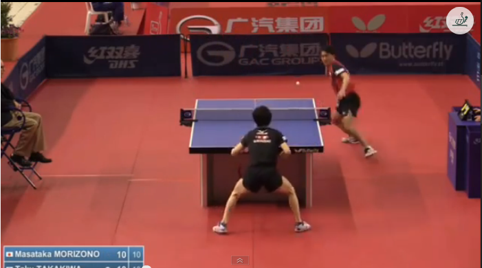 Spanish Open 2014 Highlights: 森園政崇 Vs 高木和卓 (Quarter Final) 卓球動画