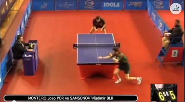 Qatar Open 2014 Highlights: Vladimir Samsonov vs Joao Monteiro 卓球動画