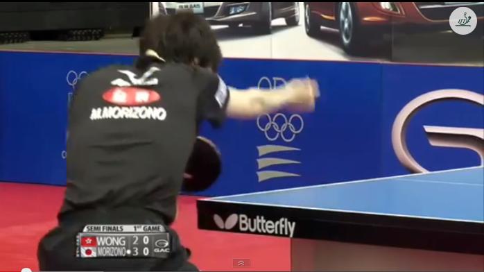 Spanish Open 2014 Highlights: Morizono Masataka Vs Wong Chun Ting (Semifinal) 卓球動画