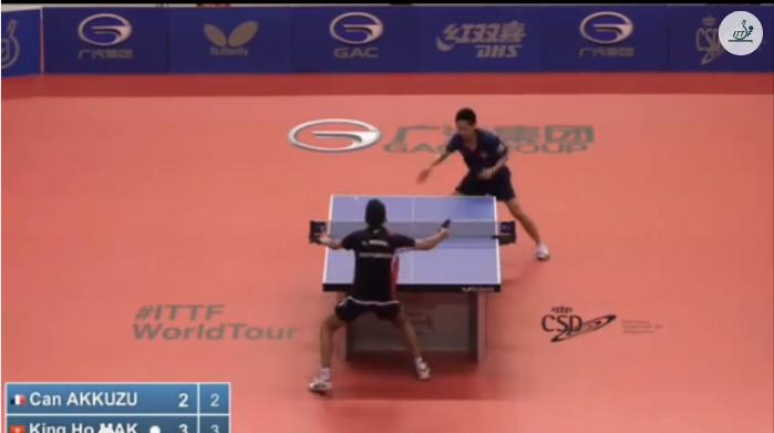 Spanish Open 2014 Highlights:Can Akkuzu Vs Mak King Ho (U21 Q. Group) 卓球動画