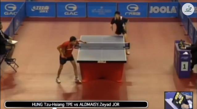Qatar Open 2014 Highlights: Hung Tzu-Hsiang vs Zeyad Aldmaisy 卓球動画