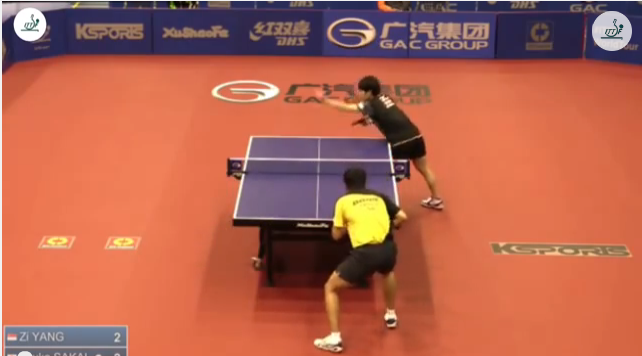 Australia Open 2014 Highlights:Zi Yang Vs 酒井明日翔 (1/4 Final)