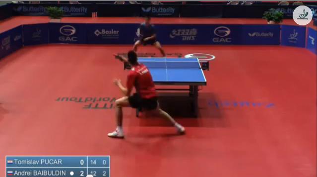 Croatia Open 2014 Highlights: Tomislav Pucar Vs Andrei Baibuldin (Round Of 16) 卓球動画