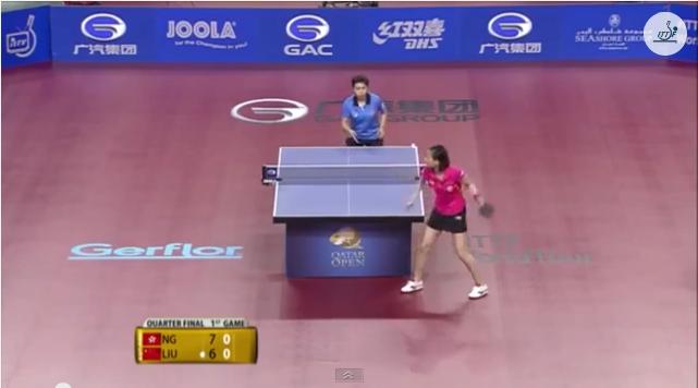 Qatar Open 2014 Highlights: Liu Gaoyang vs NG Wing Nam (1/4 Final) 卓球動画