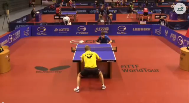 German Open 2014 Highlights: Dimitrij Ovtcharov vs Ruwen Filus (Round Of 32) 卓球動画
