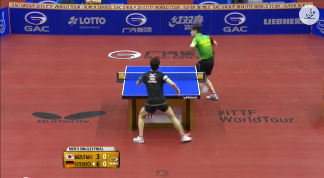 German Open 2014 Highlights: Ovtcharov vs 水谷隼 (Final) 卓球動画