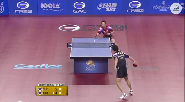 Qatar Open 2014 Highlights: Joo Se Hyuk vs Cho Eonrae (1/4 Final) 卓球動画