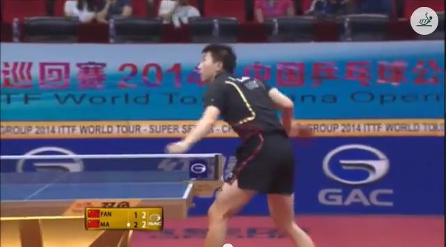 China Open 2014 Highlights: Fan Zhendong VS Ma Long (SEMI) 卓球動画