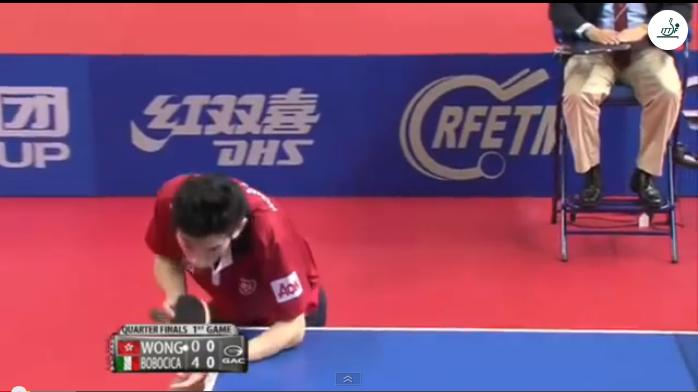 Spanish Open 2014 Highlights: Mihai Bobocica Vs Wong Chun Ting (Quarter Final) 卓球動画