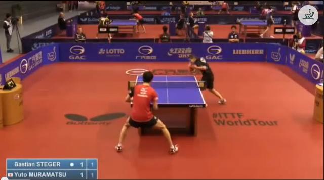 German Open 2014 Highlights: Bastian Steger vs 村松雄斗 (Round 1) 卓球動画