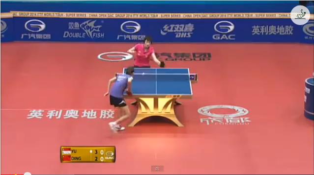 China Open 2014 Highlights: Ding Ning Vs Yu Mengyu (1/4 Final) 卓球動画