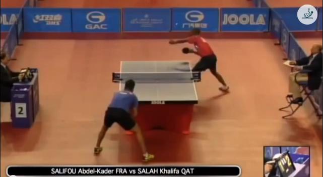 Qatar Open 2014 Highlights: Abdel-Kader Salifou vs Khalifa Salah 卓球動画