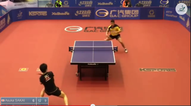 Australia Open 2014 Highlights: 酒井明日翔 Vs Jian Zhan (Semifinal) 卓球動画