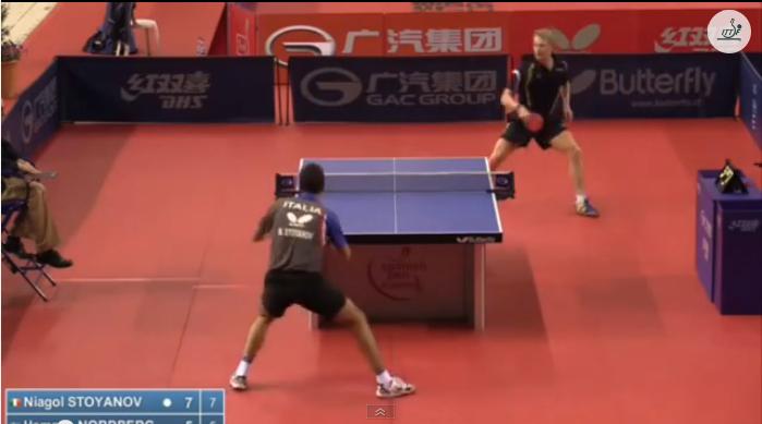 Spanish Open 2014 Highlights: Niagol Stoyanov Vs Hampus Nordberg (Round Of 32) 卓球動画