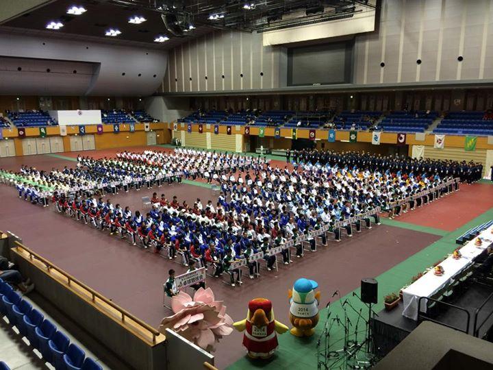 長崎国体卓球競技の開始式!