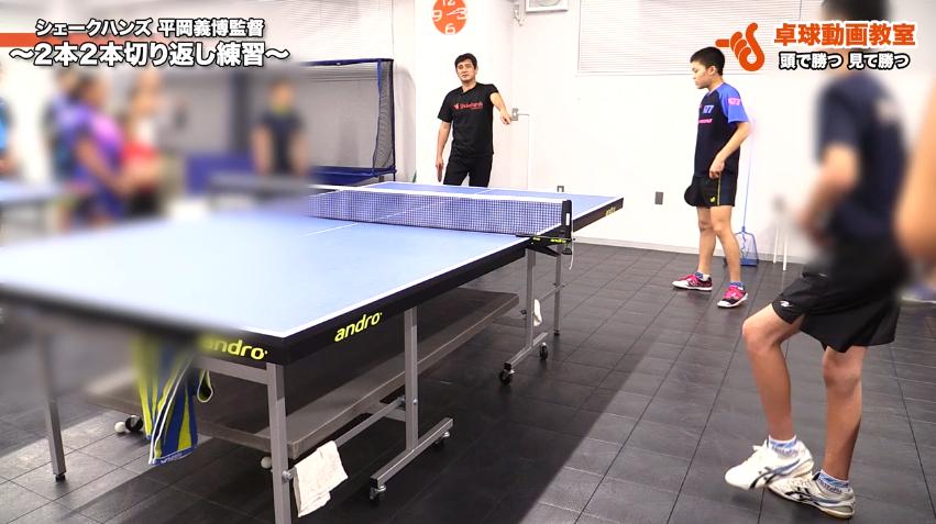 2本2本切り返し練習、足の使い方とボールに… by 平岡義博