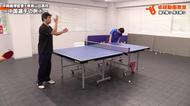 中国選手から学ぶ素早いバックハンドへの切り替え by 平岡義博_表紙
