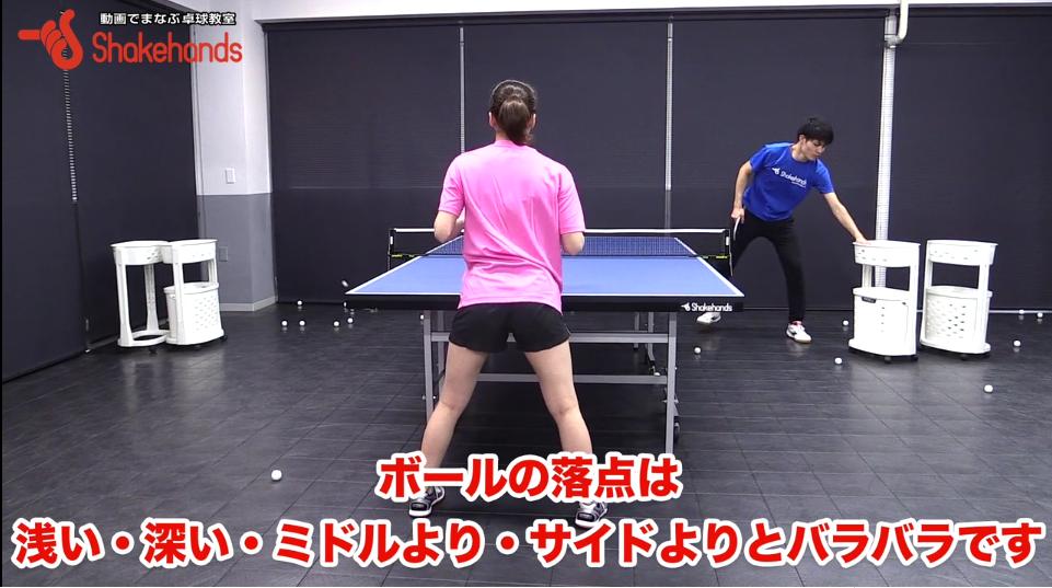 フリックレシーブをダブルスで。安定した返球を支えるのは足の位置! by山本怜