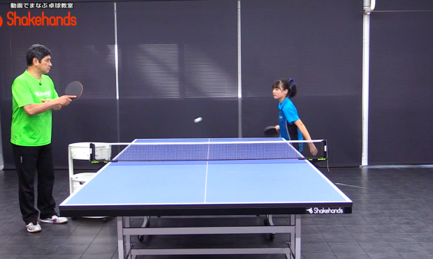 フォアハンドで鋭角打ち。フットワーク練習を公開! by ジュニア編_表紙