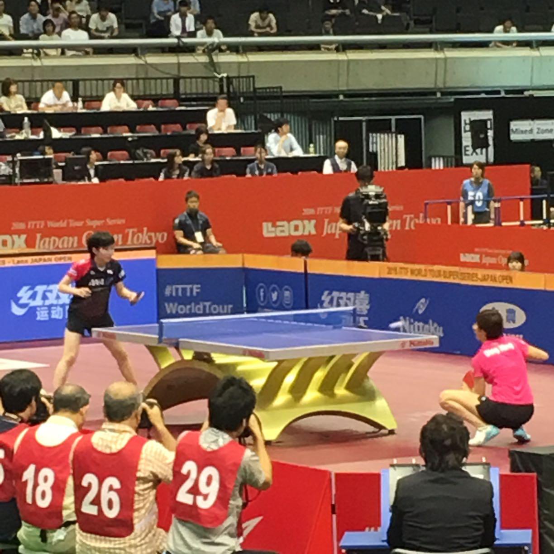 避けて通れない道 4日目終了 2016 ITTFワールドツアー・ジャパンオープン