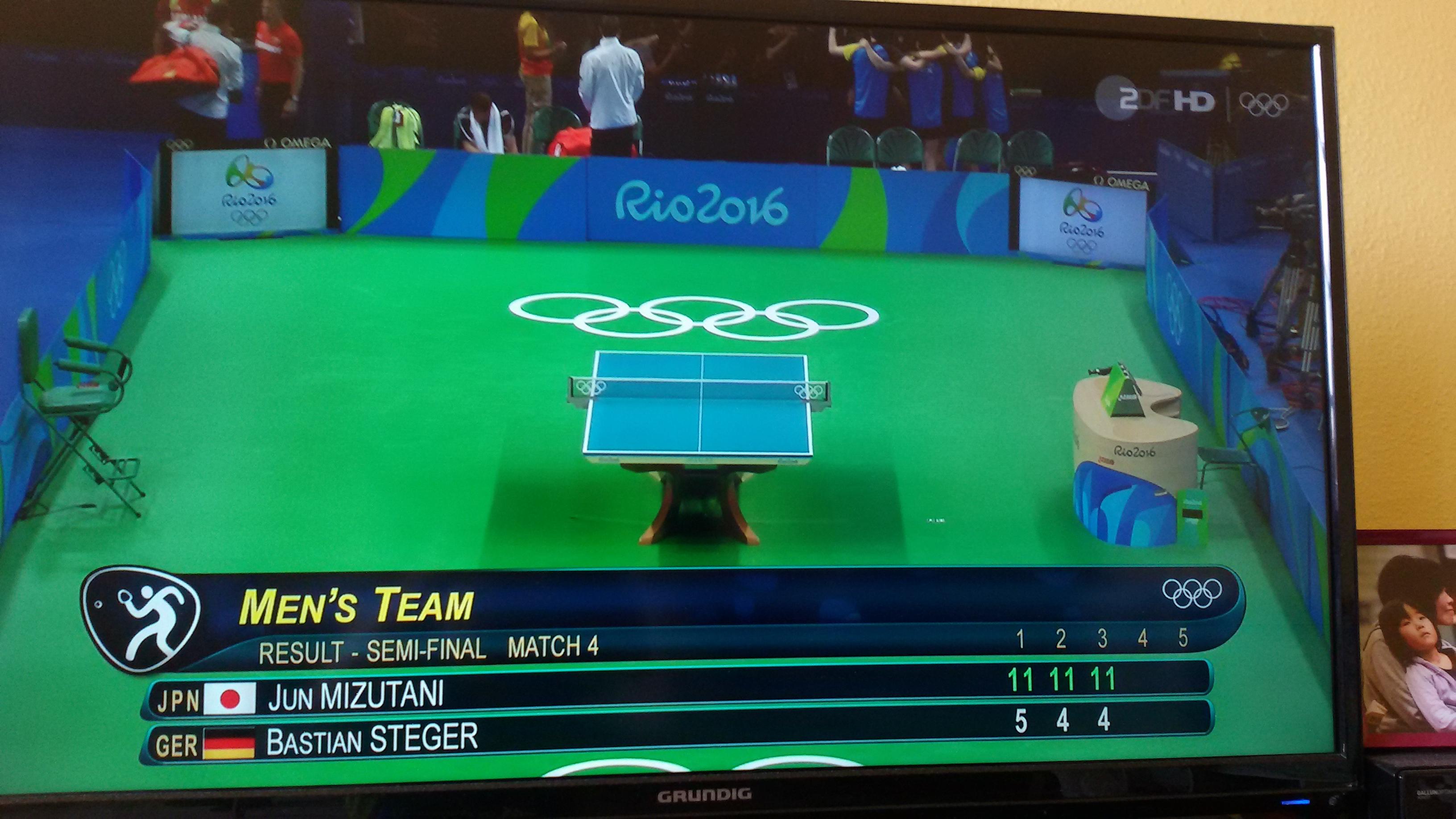 頑張れ!隼!真晴!孝希! リオ・オリンピック男子団体決勝!