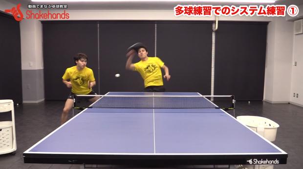ダブルス。多球練習で正しい動き方を学ぶ! by 森薗政崇_表紙