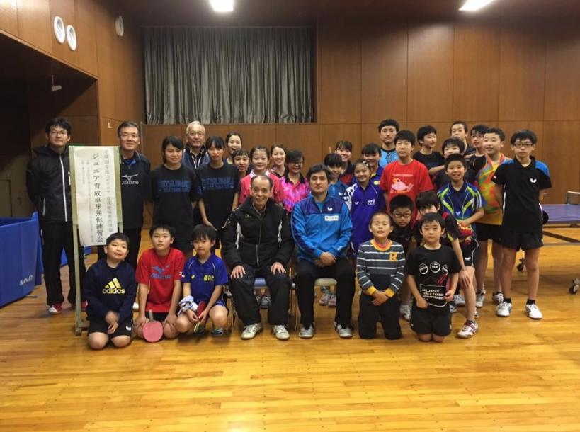 東京都ジュニア育成事業の講習練習会
