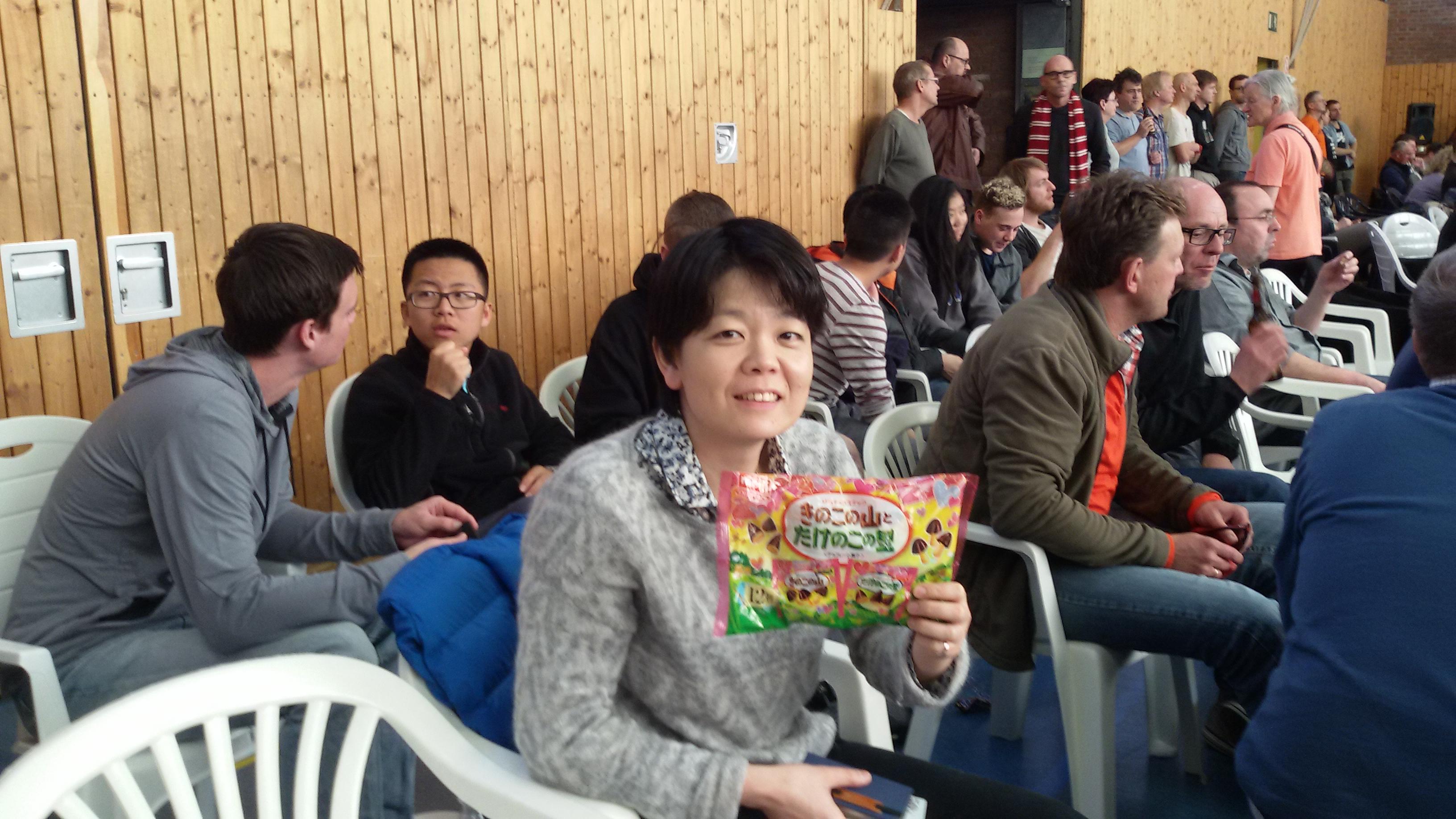 アウェイ連戦(対ケルン)及川選手が3試合に勝ち6対2で勝利!