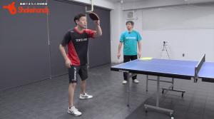 張一博と平岡義博。日本にない中国の強くなる練習法とは