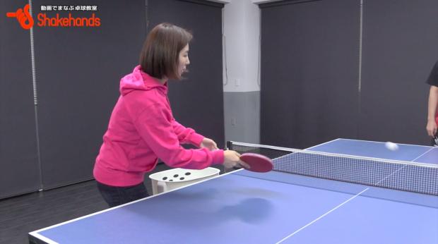 張一博と張莉梓コーチ。すぐに上達する多球練習!_表紙