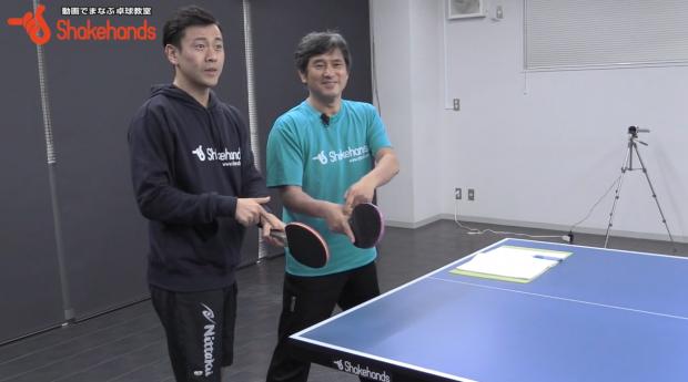張一博と平岡義博。中国卓球のフォアの基本とは_表紙