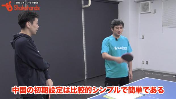 張一博と平岡義博。中国卓球ではバックハンドから練習する?_表紙