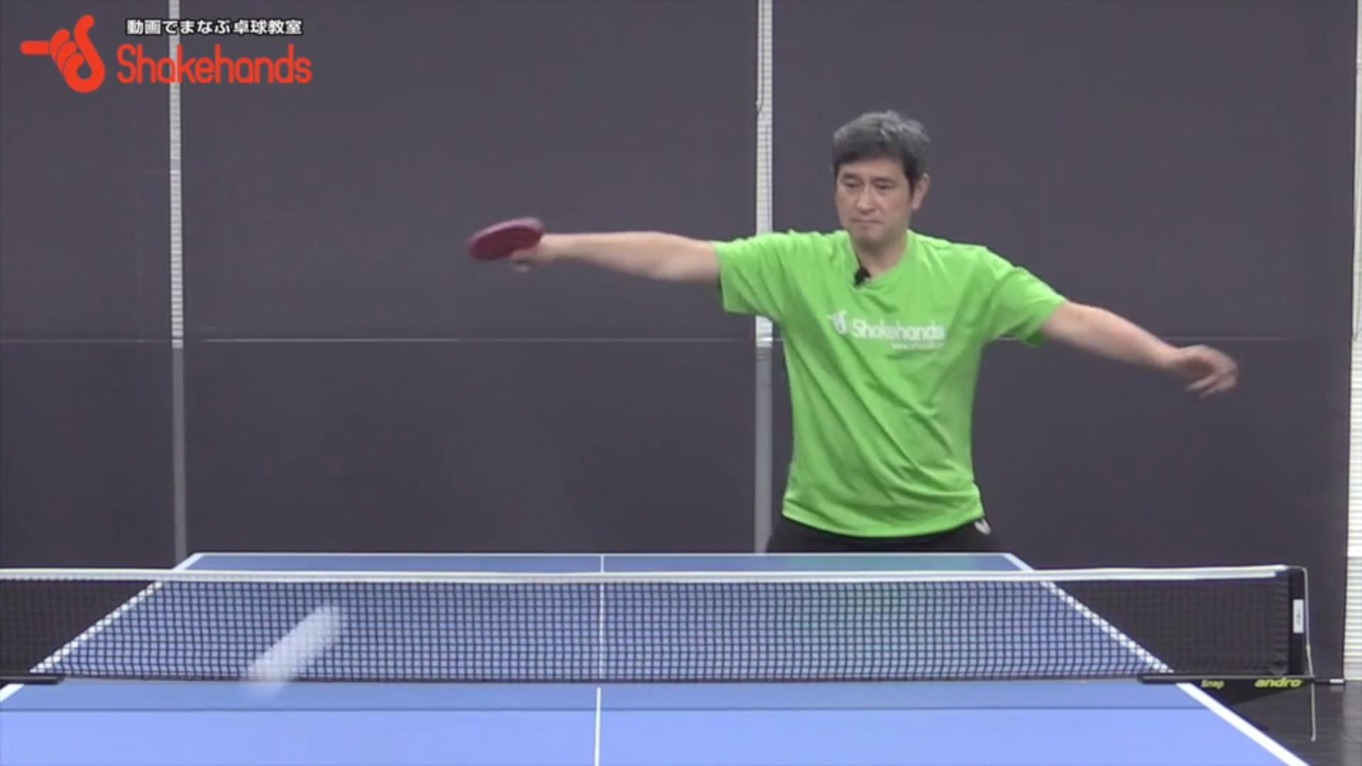 平岡義博が教える!トップ選手のバックハンドの打ち方