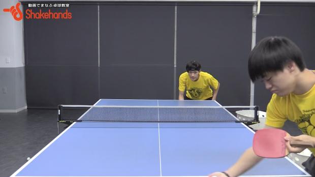 吉村和弘のロングサーブをレシーブ。7対3で注意して対応!_表紙