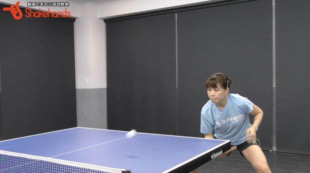 松澤茉里奈のハーフボールの多球練習。試合で先に攻める!_表紙