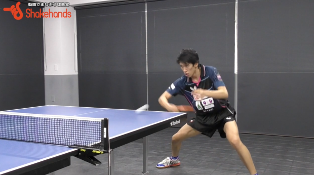 吉村真晴の試合を想定した練習。オールの中でフォアを強打!_表紙