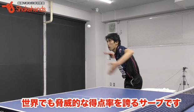 吉村真晴選手の「YGアップダウンサーブ」はスイングが大事!_表紙