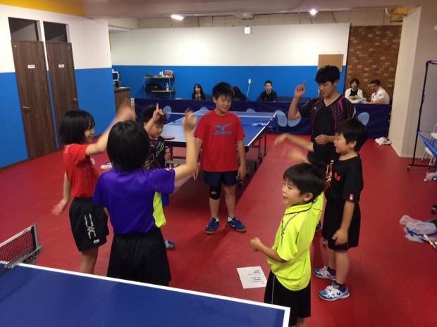 【るのツアー】で教わった卓球の〈応援練習〉