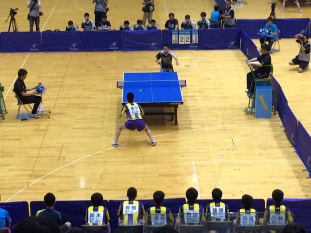 中学生日本一が決まります【全国中学校卓球大会】