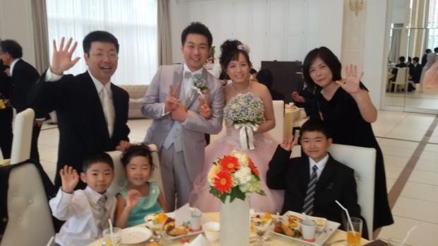 2017夏の帰国(2)義甥の結婚式と披露宴