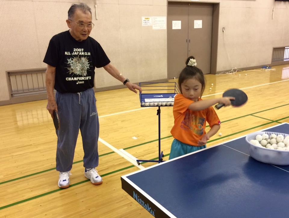 別府市で行なわれる全国中学校卓球大会へ