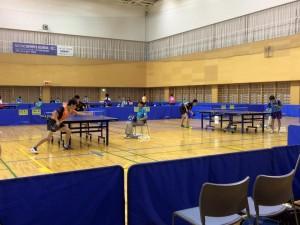 卓球日本代表を決める、一次選考の様子