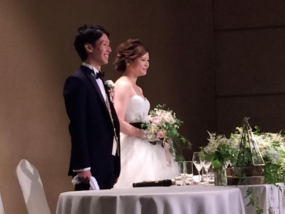 卓球の教え子が結婚。おめでとうございます
