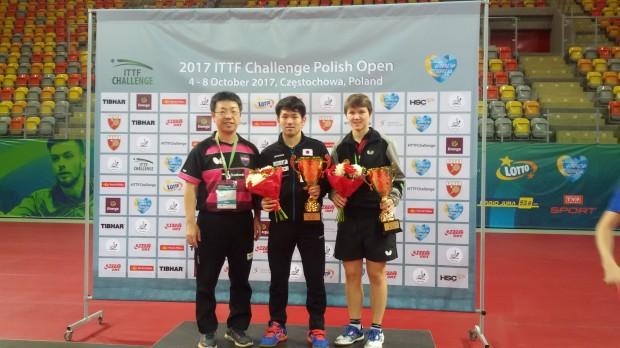 【 及川選手やりました!アンダ−21優勝 】ポーランドオープン4日目