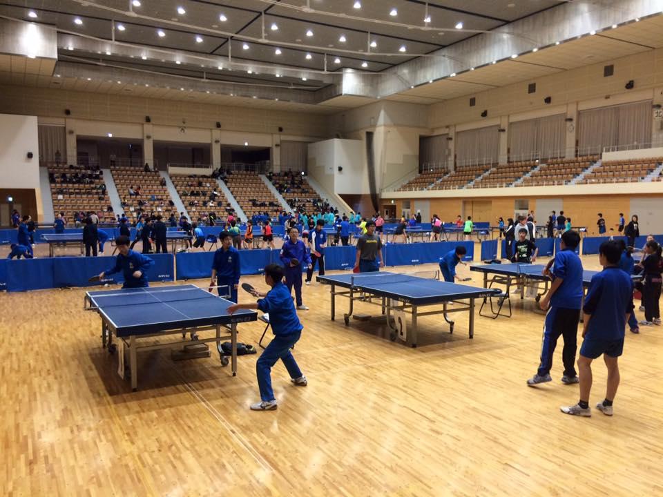 岩手県の卓球リーグにて、講習会をさせていただきました
