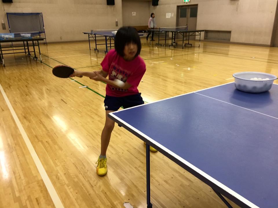 レベルの高い卓球練習になりました