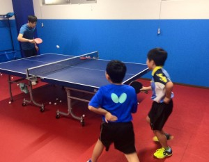 卓球ジュニア教室の練習が楽しい!