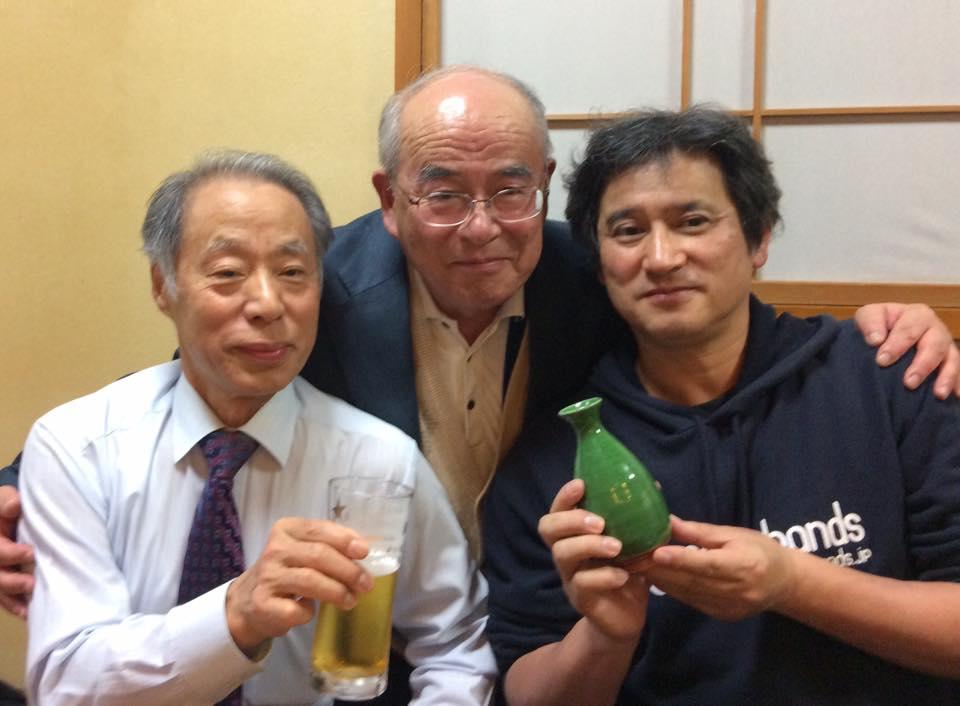 新潟市卓球連盟に歓迎会を開いていただきました