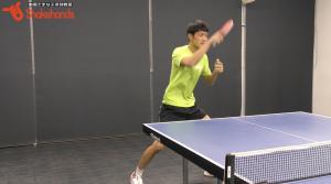 【全日本出場】吉村和弘のカット打ち。切れているカットは【打点】が大事!