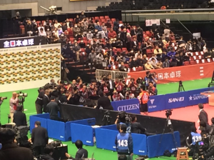 衝撃的な卓球全日本はノータッチの嵐